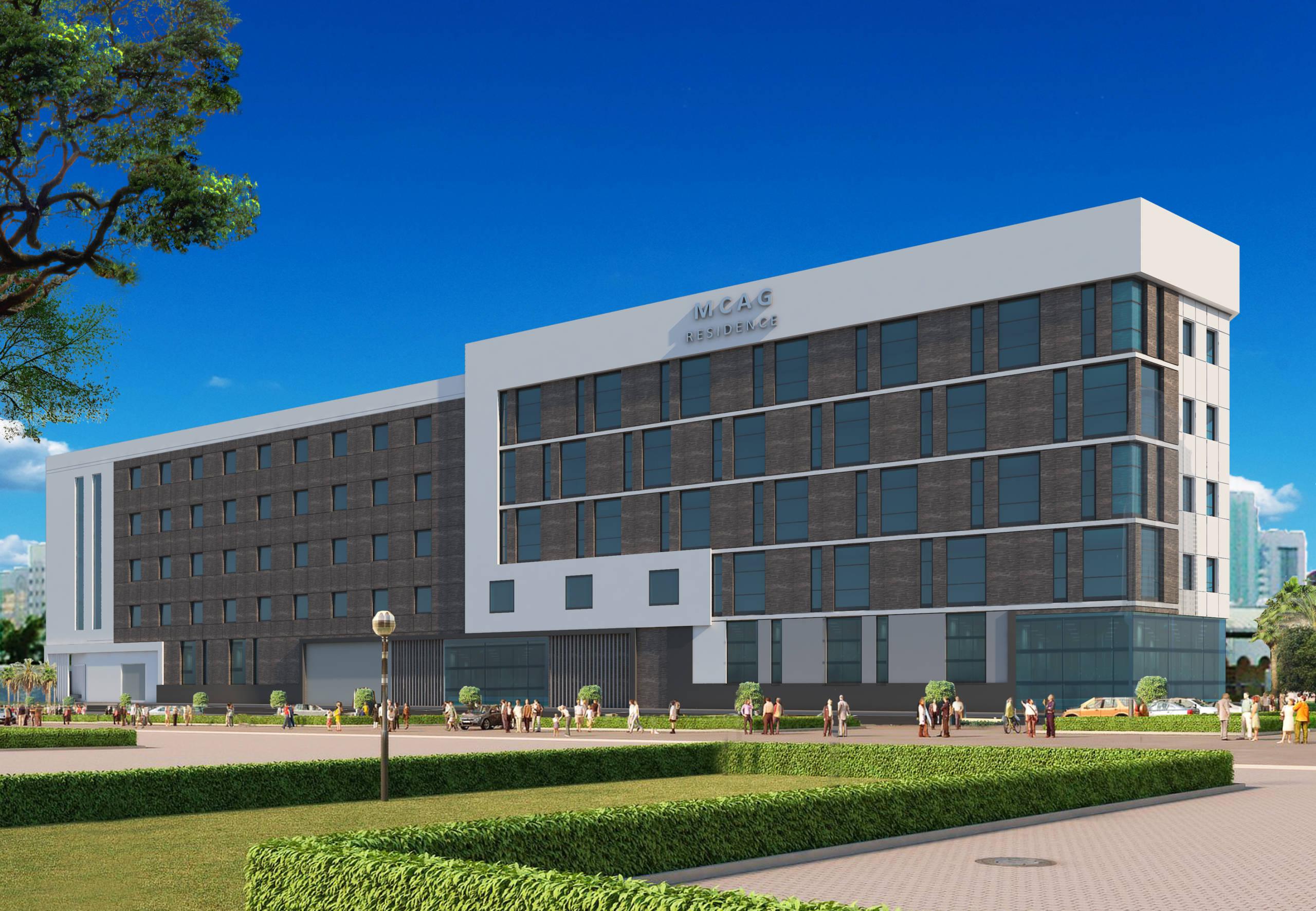 MCAG residence G+4 building