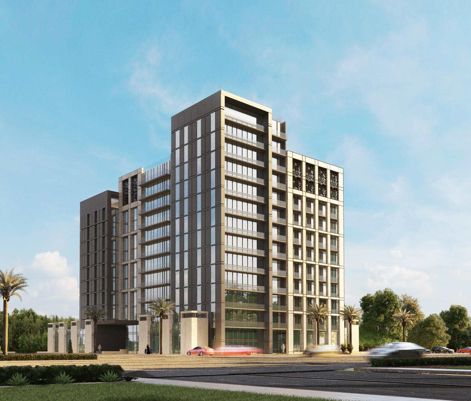 Rotana Gardenia -Residential Building