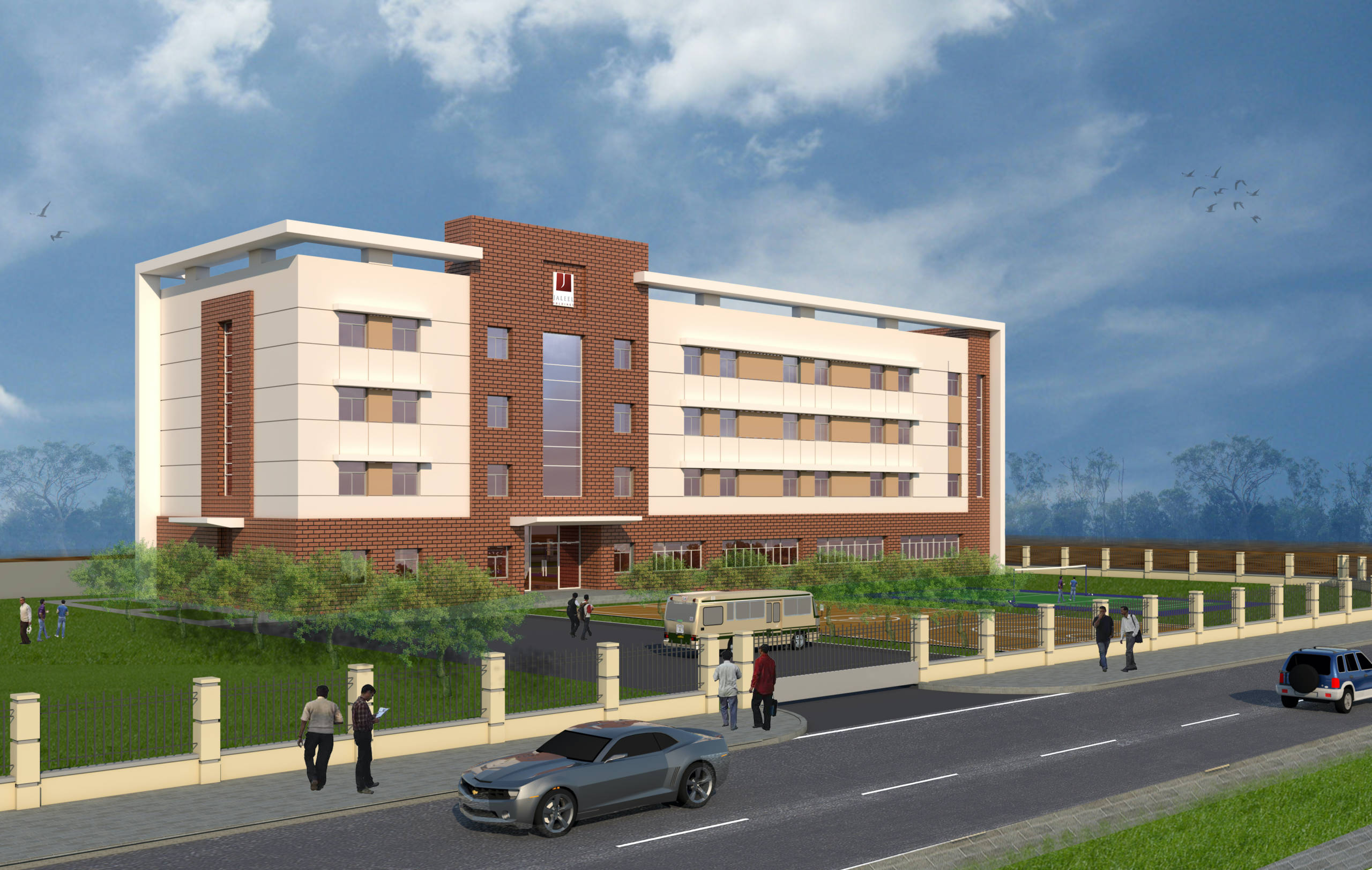 G+3+R Labour Accommodation in DIC